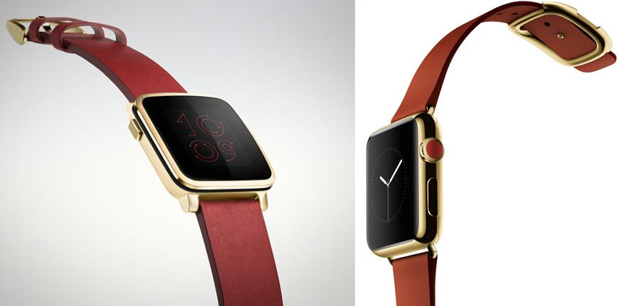 pebble mi apple watch mu saat